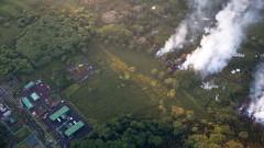 Облакът пепел от Килауеа вече представлява опасност за авиацията в района