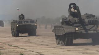 """Армията провежда учение """"Мирен страж"""" с тема """"Механизиран батальон в настъпление"""""""