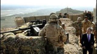 Гордън Браун изненадващо пристигна в Афганистан