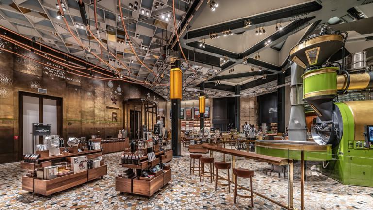 Първият Starbucks в Италия отвори врати