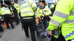 Климатични активисти блокираха централата на БиБиСи в Лондон