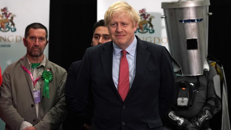 Като историческиопредели вчерашните парламентарни избори британският премиер Борис Джонсън. Той