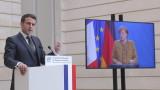 Макрон категорично порицава Русия за отравянето на Навални и изгонването на дипломатите