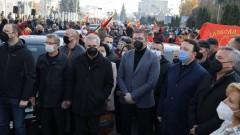 Истеричен Мицкоски плаши привържениците си с разпарчетосване на Македония в София