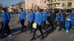 Футболистите на Левски почетоха Апостола на свободата