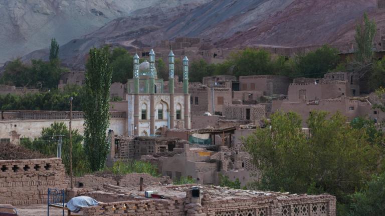 Китайските власти са съборили хиляди джамии в Синдзян-уйгурския автономен регион.