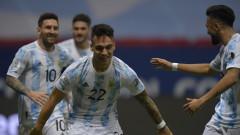Големият финал е факт: Аржентина оцеля след дузпи срещу Колумбия и си уреди сблъсък с Бразилия