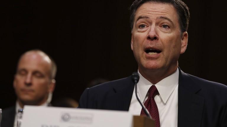 Бившият директор на ФБР Джеймс Коми поиска властите в щата