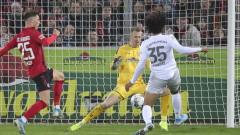 Байерн (Мюнхен) победи Фрайбург с 3:1 в Бундеслигата