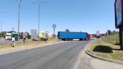 Затруднено е преминаването през Дунав мост край Русе