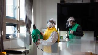 Невиждан от 9 месеца брой заразени с коронавируса в Южна Корея