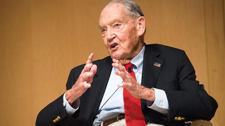Джон Богъл, легендарен инвеститор и основател на най-голямата в света