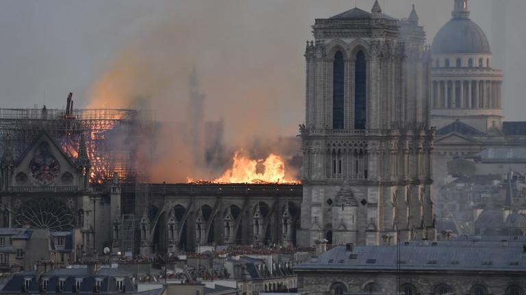 Снимка: Френски милиардери обещаха €400 милиона за Нотр Дам