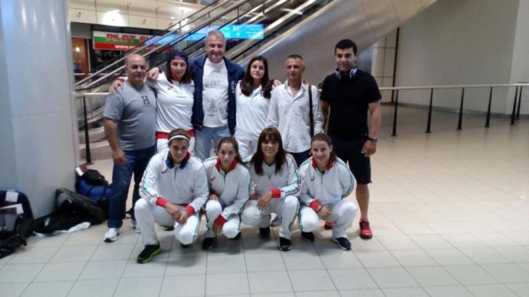 Женският национален отбор по борба на България замина за Франция