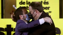 Сепаратистите увеличиха мнозинството си в парламента на Каталуния
