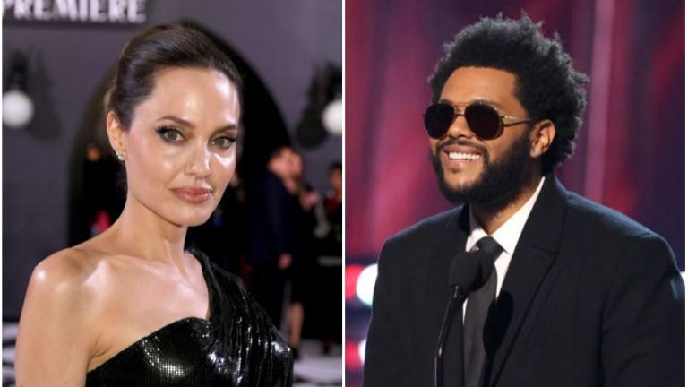 Какво се случва между Анджелина Джоли и The Weeknd