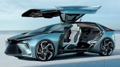 Колата на бъдещето: Lexus представи концепт на най-футуристичния електромобил, показван досега
