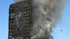 Жертвите на пожара в Лондон са поне 17, очакват се още