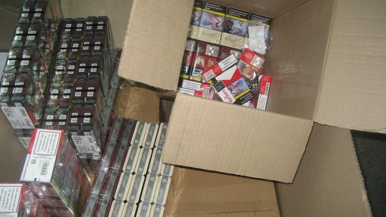Митничари задържаха цигари за над 6000 лева на ГКПП