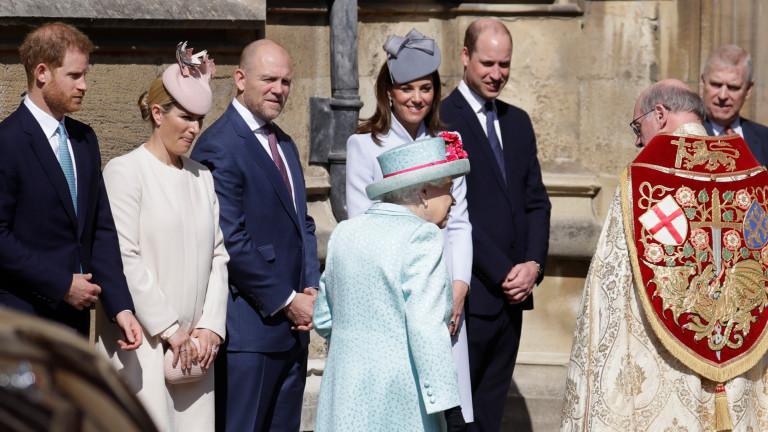 Снимка: Защо Меган пропусна рождения ден на кралицата