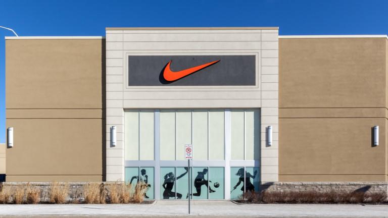 Печалбите на Nike са с най-висок ръст в историята на компанията