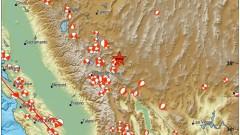Силно земетресение в САЩ