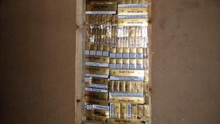На Кулата заловиха 1 милион къса контрабандни цигари