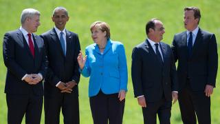Обама, Меркел, Оланд, Камерън и Ренци се срещат в Хановер в понеделник