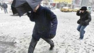 Обилни снеговалежи блокираха Австрия
