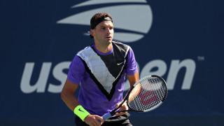 Уверен Григор Димитров пречупи Андреас Сепи и ще играе с Борна Чорич във втория кръг на US Open