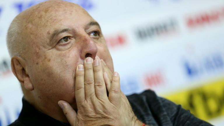 Венци Стефанов: Не търся начини да спася Славия по административен път