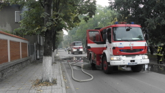 Пожар застраши детска градина в Свищов