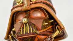 Дизайнер създава Star Wars маски от чанти на Louis Vuitton