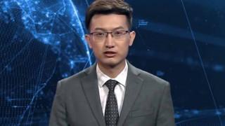 Изкуствен интелект стана телевизионен водещ