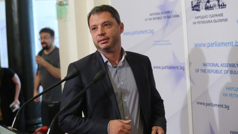Снимка: Делян Добрев е в болница с коронавирус