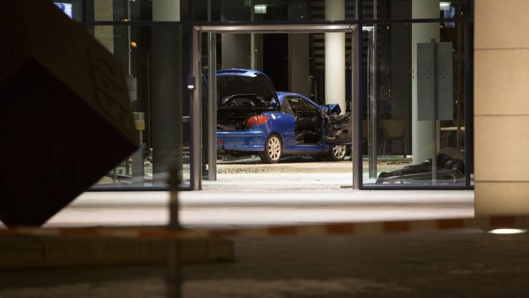 Шофьор се вряза в централата на Германската социалдемократическа партия (СДП)