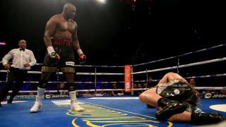 Дилиън Уайт спечели боксовото зрелище срещу Джоузеф Паркър