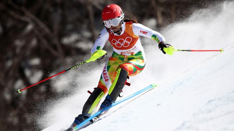 Най-добрата българска скиорка в алпийските дисциплини през последните години Мария