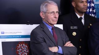 Антъни Фаучи: Случаите на коронавирус в САЩ може да достигнат 100 000 на ден