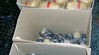 Хероин за над 9 млн.лв. хванаха на Капитан Андреево