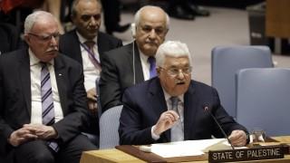В ООН Абас призова световните лидери да признаят Палестина за държава