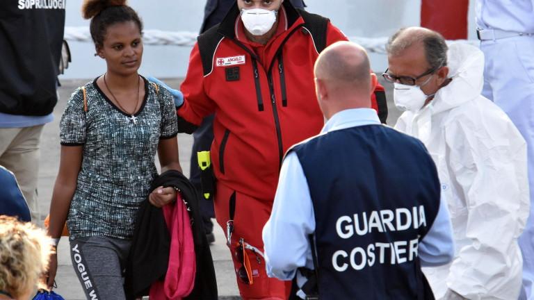 Около 34 мигранти са загинали след корабокрушение в западната част