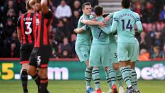 Арсенал има с какво да се гордее в мачовете си с Бърнли