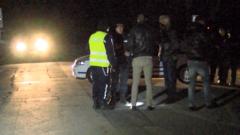 Сапьори прочистват района на взрива в склада на ВМЗ-Сопот в Иганово