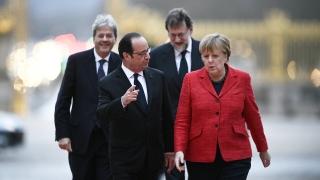 Четиримата лидери във Версай подкрепиха ЕС на различни скорости