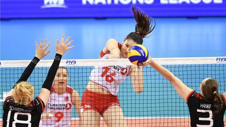 """Турция се класира за финалите на дамската """"Лига на нациите"""""""