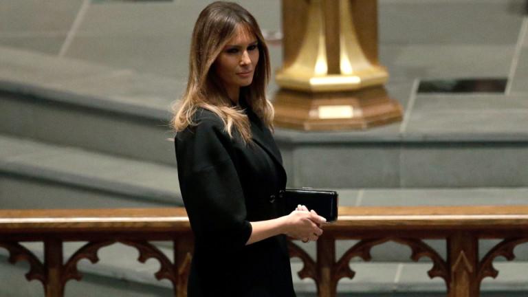 Първата дама на САЩ може да не говори много, но