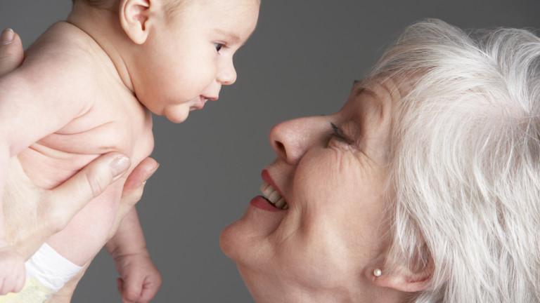 Защо бабата по майчина линия е важна за детето