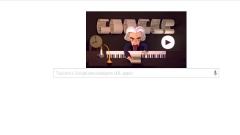 Гугъл почете 245 г. от рождението на Бетховен