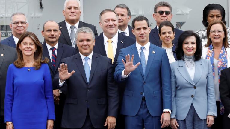 Помпео призова света да сложи край на тиранията на Мадуро